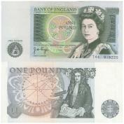 Bank of England British 0.5kg £1 bank note Crisp UNC / 1978 / England