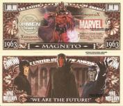 Novelty Dollar Magneto X Men We are the Future Million Dollar Bills x 4 Comic Book Villain