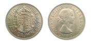 Coins for collectors - 1967 Queen Elizabeth uncirculated 1/2 Half crown coin with some lustre