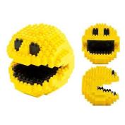 Pac-Man Pixel Bricks Model