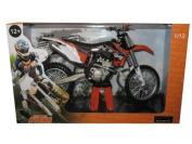 2012 KTM 350 SX-F Dirt Bike Motorcycle Model 1/12 by Automaxx 602101OR by Automaxx