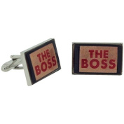 """Ministry of Chaps """"The Boss"""" Splendid Cufflink Set in Gift Box HM710"""