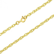 Jewellery 9ct Yellow Gold Prince of Wales Chain - 46cm