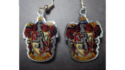 Gryffindor Crest - Earrings - Official Harry Potter Warner Brothers Licenced Product !