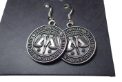 Ministry of Magic Symbol - Earrings - Official Harry Potter Warner Brothers Licenced Product !