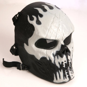 Tactical Airsoft Full Face Protection Mask Hunting Shooting Ghost Party Mask