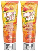2 X FIESTA SUN MANGO MELT 236ML SUNBED LOTION TANNING CREAM