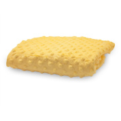 Rumble Tuff Minky Dot Changing Pad Cover, Yellow,Compact