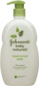 Johnson's Natural Head-to-Toe Baby Wash, 530ml