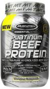 Muscletech 100% Platinum Beef Protein Vanilla Caramel - 2 lbs