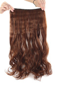MapofBeauty Beautiful Long Curly Clip-on Hair Extensions Hairpieces
