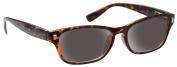 Sun Readers Reading Glasses Sunglasses +3.00 Strength Mens Womens Unisex Wayfarer Style UV400 Brown Tortoiseshell UV Reader UVSR010 Inc Case