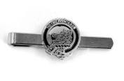 Scottish Clan Campbell Crest Tie Clip (slide), English Pewter, Gift Boxed