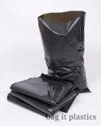10 Black Rubble Bags / Builders Sacks - 520 Gauge