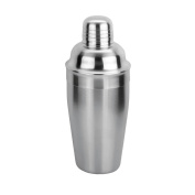 Leopold Vienna 85 x 200 mm Satin Stainless Steel Cocktail Shaker, Silver