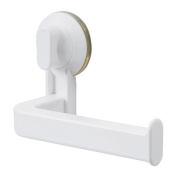 STUGVIK Toilet Roll Holder with Suction Cup, White, Width