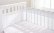 AirflowBaby 4 Sided Cot Mesh Liner - White