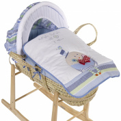 Bizzi Growin Over The Moon Moses Basket