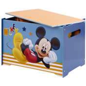 Mickey Mouse Wooden Toy Box