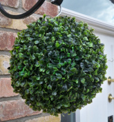 Best Artificial 23cm Boxwood Buxus Topiary Grass Ball