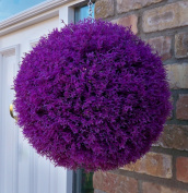 Best Artificial 30cm Purple Heather Ball, UV Fade Protected