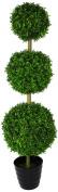 Geko 1.2m 120 cm Single Artificial Extra-Large Grass Topiary Tree