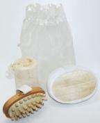 Loofah Sponge Bath And Shower Set
