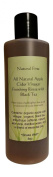 Natural First Organic Apple Cider Vinegar Finishing Rinse w/ Black Tea for Shedding/Hair Loss (DHT Blocking) 240ml