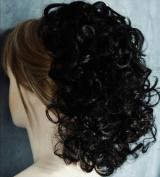 JOY Banana Clip Hairpiece - 1B Black