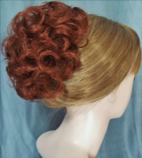 HAYLEY Clip On Hairpiece by Mona Lisa - 130 Copper Red