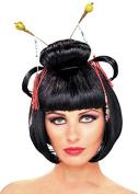Ladies Black Oriental China Girl Wig