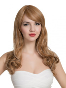 PINKISS Women's Premium Fashion Hair Replacement Wig with Super Breathable Wig Cap