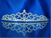Rhinestones Crystal Wedding Bridal Prom Pageant Princess Tiara Crown 00176