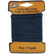 Royal Blue Waxed Cotton Cord -1.5mm, 10 metres