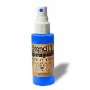 Stencil1 Sprayers Day-Glow Colours 60ml-Blue