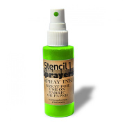 Stencil1 Sprayers Day-Glow Colours 60ml-Green