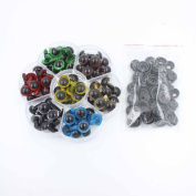 10mm Mix Colour Plastic Safety Eyes for Teddy Bear Doll Animal Puppet Craft Box