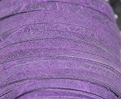 3mm - Genuine Split Suede Leather Lace - (1.6-1.9mm Thick) -Various Colours - Packing in 5 Yards, 10 Yards - Hank and 25 Yards per Spool (5 Yards, Cyclaman