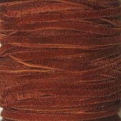 2.5mm Width - Very Thin Suede Lace (0.5-0.7 Thickness) - Genuine Suede Leather - 25 Yards Per Spool - Available in Many Colours (Ruse