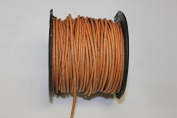 Round Leather Cord - *High Quality * 1mm, 1.5mm, 2mm - 3 Colours - 25 Metres Per Spool