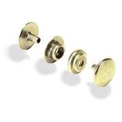 Line 20 Snaps Brass Plated 10/pk Item #1261-01