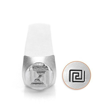 ImpressArt- 6mm, Greek Key Metal Stamp