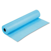 Rainbow Duo-Finish Coloured Kraft Paper, 16kg., 90cm x 300m, Sky Blue, Sold as 1 Roll