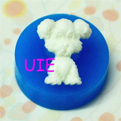 043LBD Dog Silicone Mould Fondant Gumpaste Polymer Clay Charms Cake Decoration Clay Push Mould