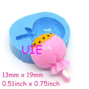 016LBK Lollipop Mould Silicone Flexible Mould Miniature Candy Mould Fimo Polymer Clay Resin Mini Cupcake Topper Kawaii Fondant Mould