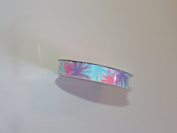 CraftSmart 100% Polyester 2.2cm . x 2.7m Retro Pattern Ribbon - Great For All Occasions!