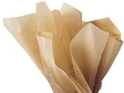 Tissue Paper KRAFT BROWN ~ FOR CRAFTS & GIFT BAGS ~ 24 sheets
