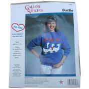 Bucilla Gallery of Stitches Put Ons 32828 Fashion Appliques Delightful Ducks