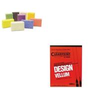 KITCHA10001410CKC9651 - Value Kit - Creativity Street Squishy Foam Classpack (CKC9651) and Chartpak Design Vellum Paper