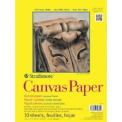 3 Pack 23cm x 30cm Glue Bound Canvas Paper Pad (Product Catalogue